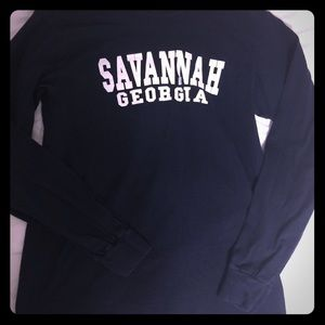 Other - Long sleeves navy shirt